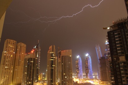 In Pictures: Dubai's Thunderstorm Was EPIC This Weekend