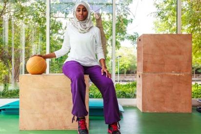 The Female Sport Scene is Taking Off in Saudi Arabia