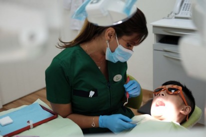 Dental Checkup and Cleaning at Dr. Michael's Children's Dental Center