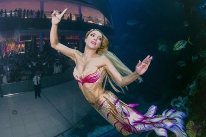 Where You Can See Real Life Mermaids in Dubai