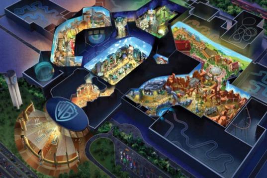 Warner Bros Abu Dhabi Theme Park on Track for 2018 Opening