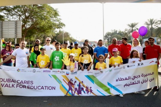 In Pictures: Ninth Edition of Dubai Cares Walk for Education