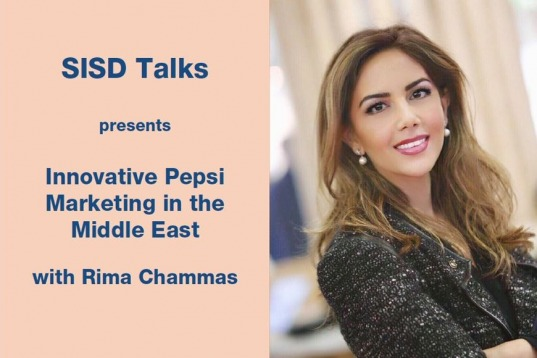SISD Talks Welcomes Rima Chammas, Innovative Pepsi Marketing in the Middle East
