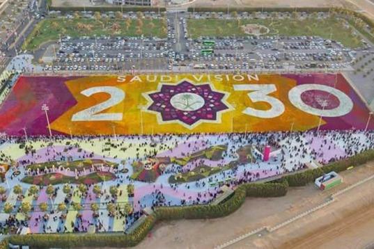Saudi Arabia Boasts with Record-breaking Flower Carpet at Yanbu Flower and Garden Festival